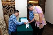 Acara Pengukuhan Dewan Pengurus KORPRI Provinsi Riau Masa Bakti 2015 - 2020