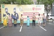 Swab Massal dan Donor Darah Bagi ASN di Lingkungan Pemprov Riau dalam Rangka HUT Provinsi Riau ke-63 dan HUT RI ke-75